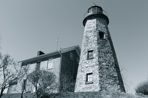 Genesee Lighthouse, BW